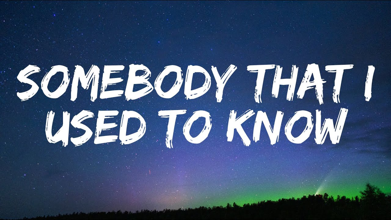Download Three Days Grace - Somebody That I Used to Know (Lyrics)