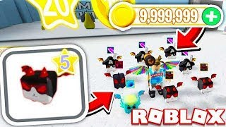 BUYING ALL TIER 5 DRAGONS! (ROBLOX DRAGON SIMULATOR)