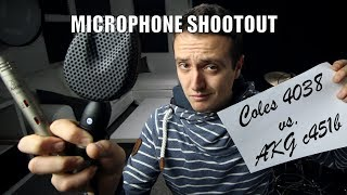 Microphone Shootout - Coles 4038 vs AKG c451b - Daily Drum Lesson