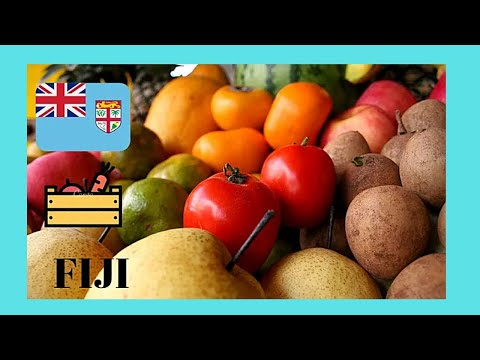 FIJI, the graphic PRODUCE MARKET of NADI and what to buy