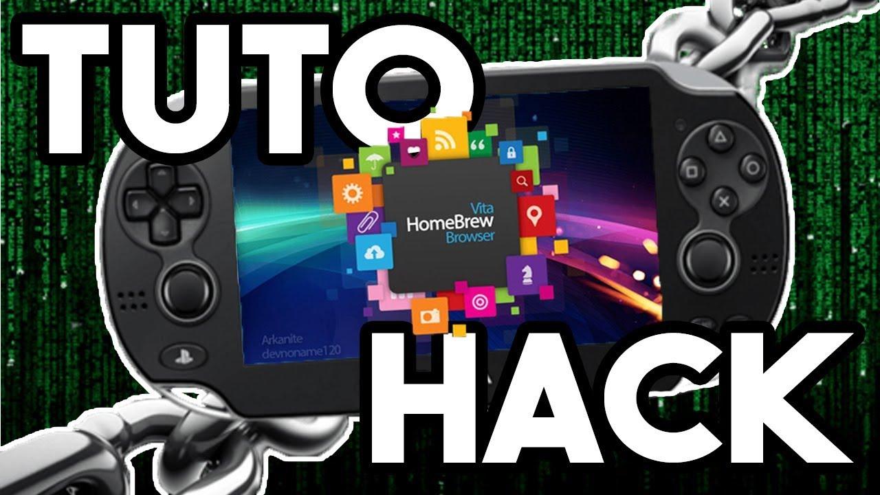 TUTO Télécharger TOUT Jeux Homebrew et Plugins GRATUIT Hack PS Vita  (Vitashell Autoplugin VHBB PKGj)