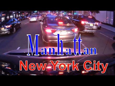 Driving downtown - Manhattan - New York City - USA