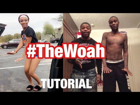 How To Do The Woah Dance #TheWoah Tutorial From the Creators! @dsmooth66 @10k.caash