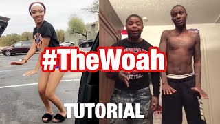 How To Do The Woah Dance #TheWoah Tutorial From the Creators! dsmooth66 10k.caash