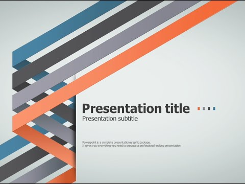 four idea ppt template animation youtube