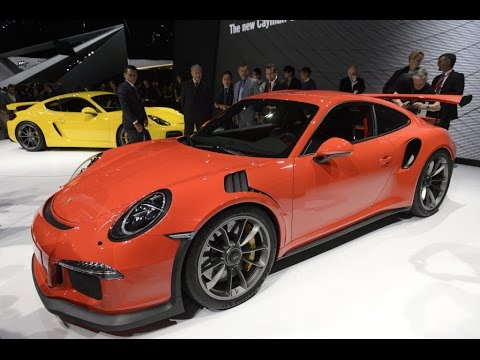geneve 2015 porsche 911 gt3 rs cayman gt4 by autovisie youtube. Black Bedroom Furniture Sets. Home Design Ideas