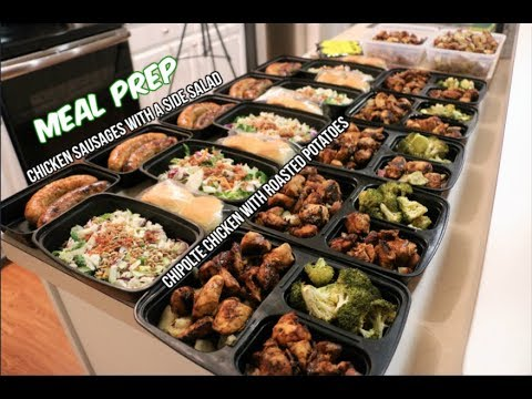 Weekly Meal Prep - Chipolte Chicken and Roasted Red ...