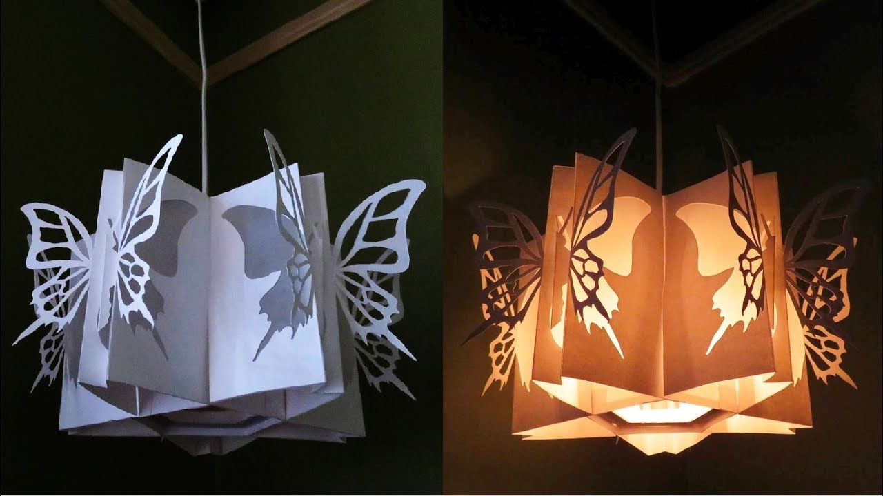 Butterfly Lamp   Learn How To Make A Butterfly Lantern   EzyCraft