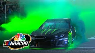 NASCAR America Burnouts on Broadway in Nashville, Tennessee (Full Version) | Motorsports on NBC