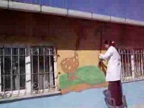 üçpınar Ilköğretim Okulu Duvar Boyama Etkinliği Youtube