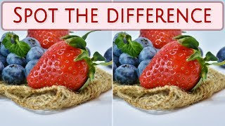 [ Brain games ] ( 3 ) Ep.003 Plants_fruits_01 | Spot the difference | photo puzzles | Healing