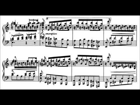 Franz Liszt-Transcendental Étude (S.139) no.02 (Molto Vivace),(with sheet music)