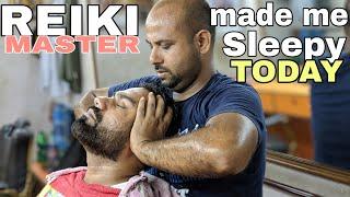 Reiki master Deep-sleep head massage with neck cracking | ASMR