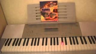 Shakira -- Whenever, Wherever. Piano tutorial
