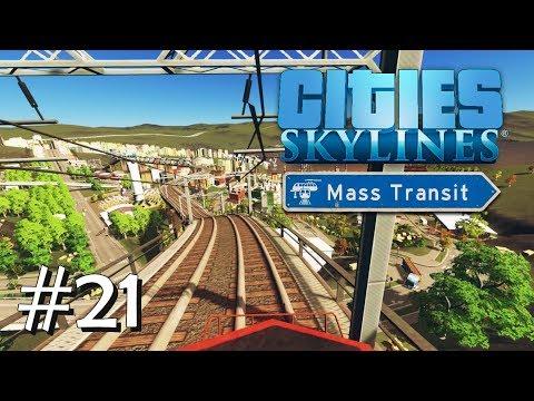 CITIES SKYLINES: Mass Transit #21: Endlich Güterzüge [Let's Play][Gameplay][German][Deutsch]