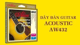 Dây đàn guitar acoustic - Sản phẩm phụ kiện guitar