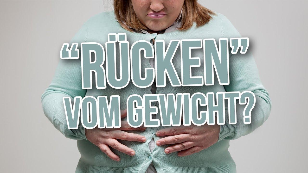 Diesen Einfluss hat Übergewicht auf deine Rückenschmerzen!