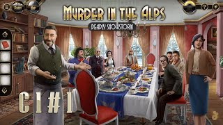 Murder in the Alps: Deadly Snowstorm [All Collectibles] Chapter 1 Part 1