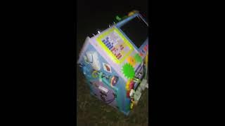 Бизидом развивающий купить, видеообзор занятного домика с щеколдами