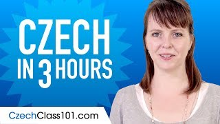 Learn Czech in 3 Hours - ALL the Czech Basics You Need