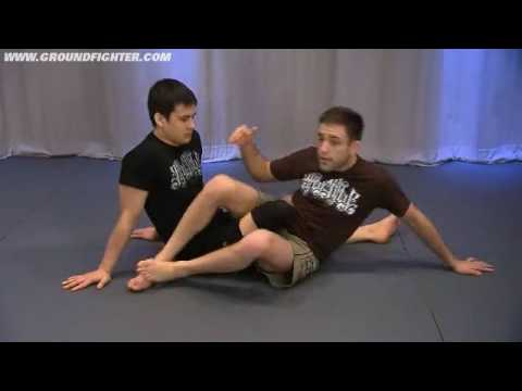 Ryan Hall 50/50 Guard - Controlling The Trapped Knee
