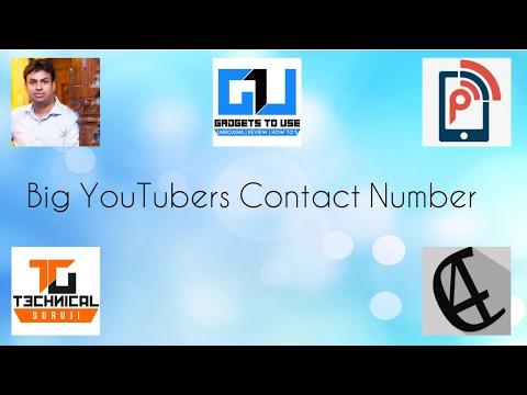 How to get Youtubers Contact Number. Ft. Technical Guruji