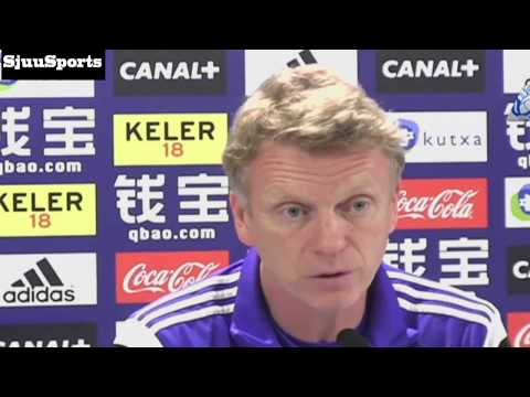 "Funny! David Moyes ""speaking"" Spanish During Press Conference HD"