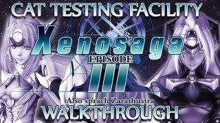 Ⓦ Xenosaga Episode 3 Walkthrough - CAT Testing Ground [Part 3/3]