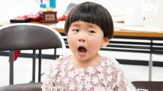 鳴門市の朝田椛ちゃん(3)が「童謡こどもの歌コンクール」(テレビ朝...