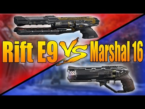 Rift E9 VS Marshal 16 (Call of Duty Black Ops 3 Pistol Versus)
