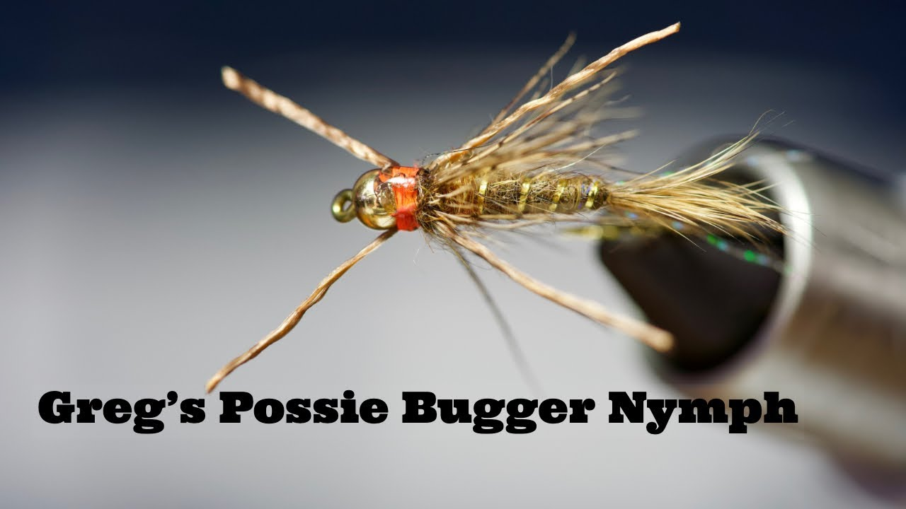 16 Brown// Tan Trout Crack Fly  Scud  Sow bug nymph fly sz
