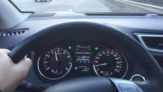 Тест разгона Nissan Qashqai 2016 до 100 км/ч