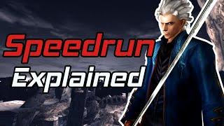 Devil May Cry 3 Vergil Speedrun World Record Explained