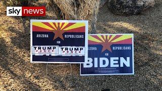 US election: Can Trump hang on to Arizona?