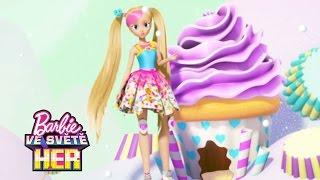 Bonusové materiály  | Barbie Hrdinka Videohry | Barbie