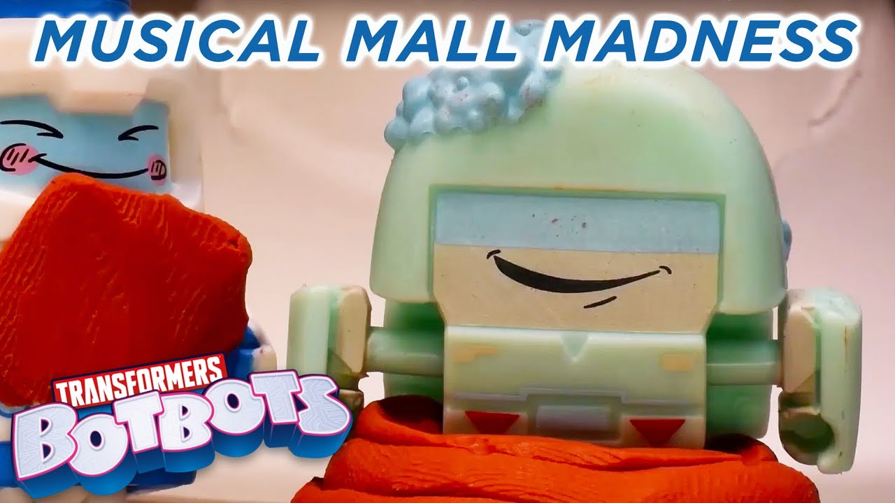 Download BotBots Musical Mall Madness  STOP MOTION Singalong | Soundtrack Saturday | Transformers Official