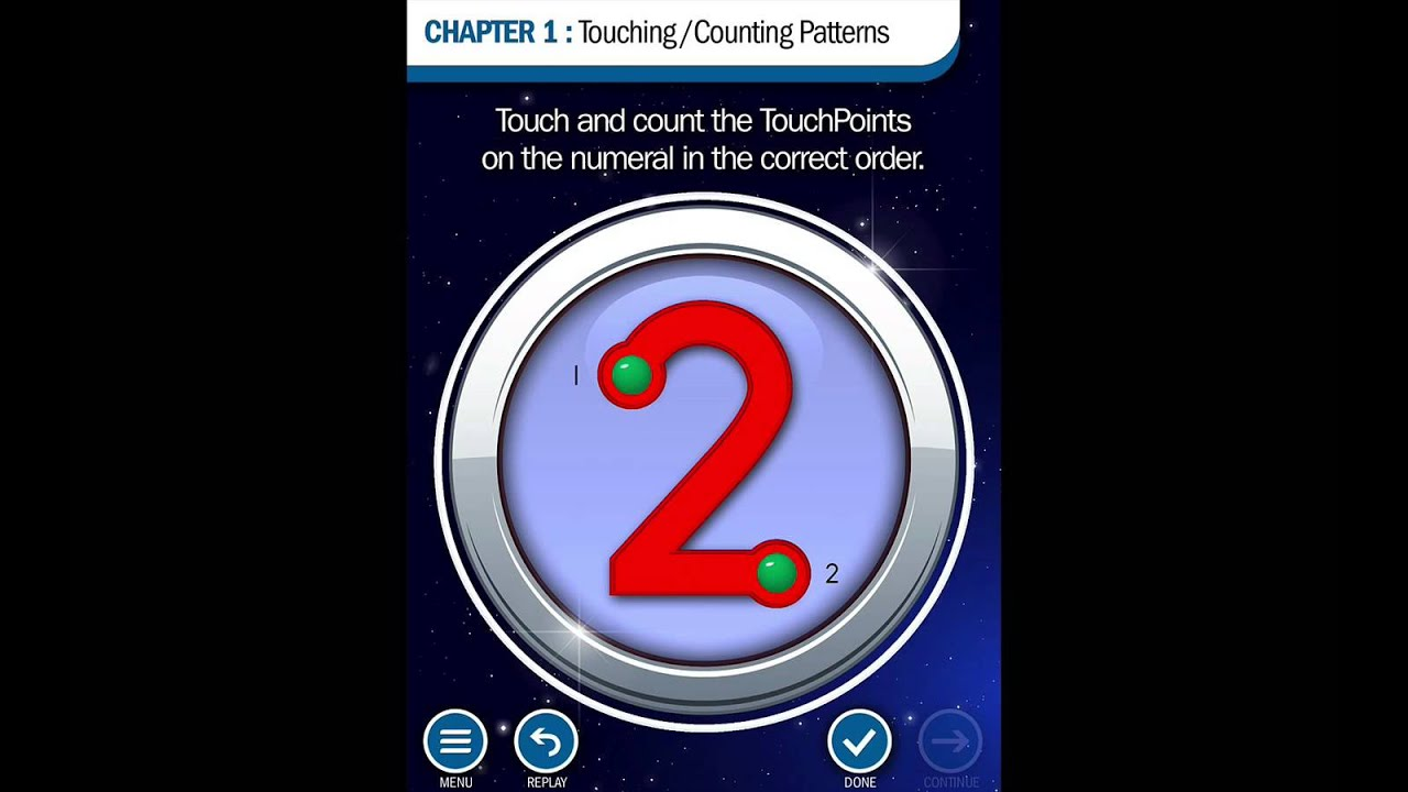 Touch Math App 1- Touching/Counting - YouTube