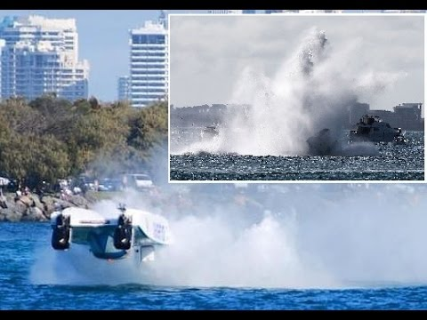 2015 UIM XCAT World Series, Round 4 - Live Webstream, Speed Cat Run - Gold Coast, Australia