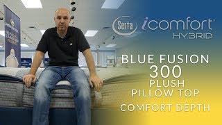 icomfort hybrid blue fusion 300 plush