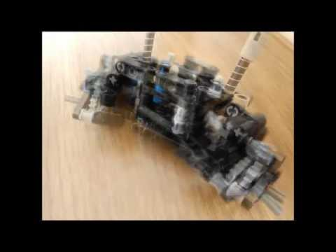 Lego Technic Trial Truck Front Axle Building Instructions Youtube