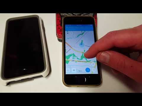 How To Turn Old IPhone Into Free Offline GPS With OsmAnd Maps & HERE We Go GPS