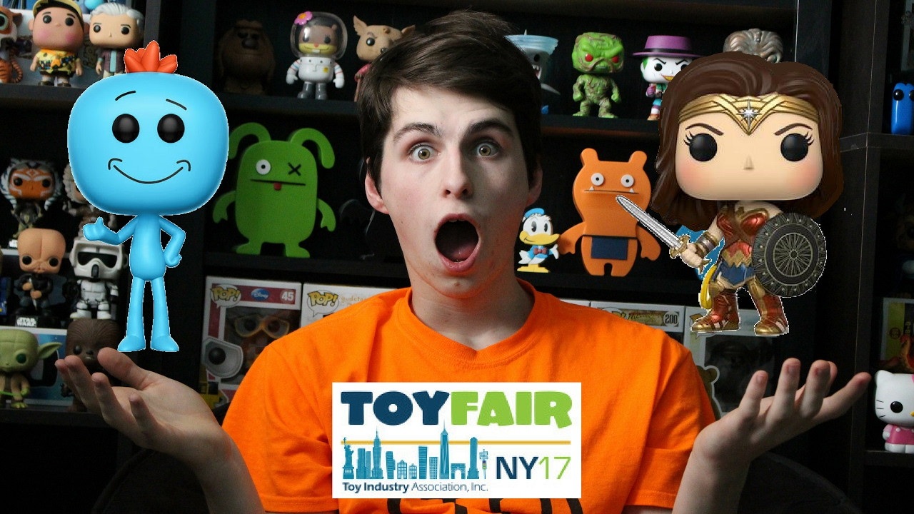 Funko Toy Fair 2017 18 New Lines Youtube