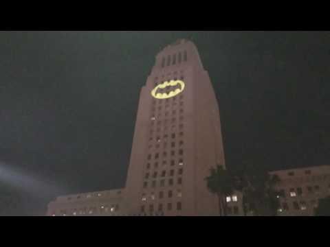 I will post full video Batman city hall fri