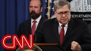 Bill Barr pressed about findings in Mueller report
