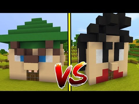 CASA DO ROBIN HOOD VS CASA DO HEYDAVI NO MINI WORLD!!