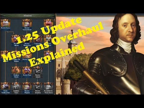 EUIV: 01 New Mission System Overview
