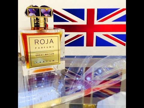 Roja Dove Great Britain Exclusive Fragrance Review!! (2015)
