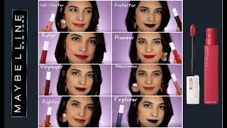 Maybelline Super Stay Matte  nk Review and Demo