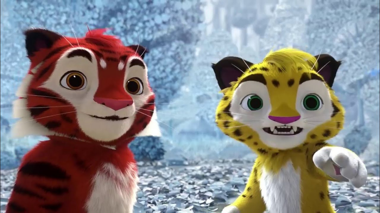 Тигр и лео картинки на прозрачном фоне