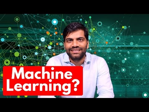 Machine Learning? Teaching Computers!!! What is it?